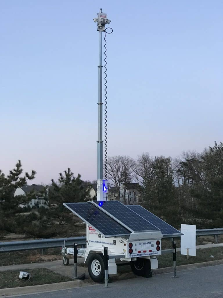 mobile security surveillance system
