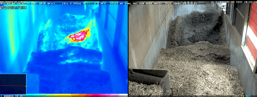 thermal video camera