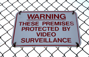 signage to help secure your facility