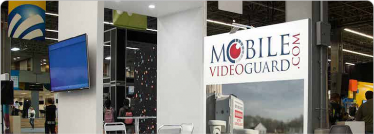 mobile video guard trade show booth