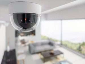 security camera at small business