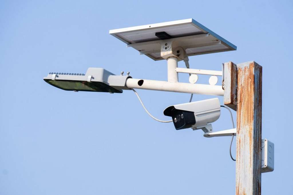 solar power video surveillance