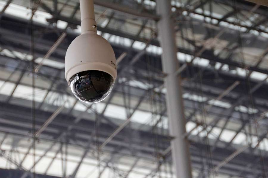 video camera security for warehouses
